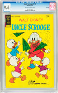 Bronze Age (1970-1979):Cartoon Character, Uncle Scrooge #110 File Copy (Gold Key, 1974) CGC NM+ 9.6 Off-whiteto white pages....