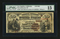 Los Angeles, CA - $20 1882 Brown Back Fr. 504 The Southwestern NB Ch. # (P)5993