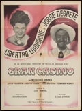 """Movie Posters:Mystery, Gran Casino (Film Trust, 1947). Mexican Poster (27.5"""" X 37"""").Mystery.. ..."""