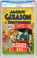 Silver Age (1956-1969):Horror, Jackie Gleason and the Honeymooners #6 (DC, 1957) CGC VF- 7.5Off-white to white pages....