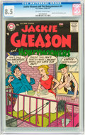 Silver Age (1956-1969):Humor, Jackie Gleason and the Honeymooners #4 (DC, 1957) CGC VF+ 8.5 Off-white to white pages....