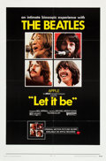 "Movie Posters:Rock and Roll, Let It Be (United Artists, 1970). One Sheet (27"" X 41"").. ..."