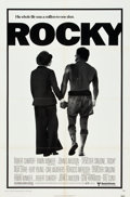 "Movie Posters:Sports, Rocky (United Artists, 1977). One Sheet (27"" X 41"") and Lobby Card Set of 8 (11"" X 14"").. ... (Total: 9 Items)"
