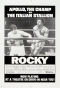 "Movie Posters:Sports, Rocky (United Artists, 1977). One Sheet (27"" X 41"") Drive-In Style.. ..."