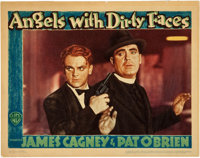 """Angels with Dirty Faces (Warner Brothers, 1938). Lobby Card (11"""" X 14"""")"""