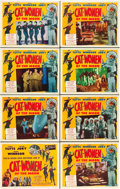 """Movie Posters:Science Fiction, Cat-Women of the Moon (Astor Pictures, 1954). Lobby Card Set of 8(11"""" X 14"""").. ... (Total: 8 Items)"""