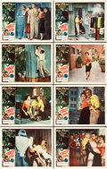 """Movie Posters:Science Fiction, Target Earth (Allied Artists, 1954). Lobby Card Set of 8 (11"""" X14"""").. ... (Total: 8 Items)"""