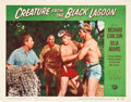 """Movie Posters:Horror, Creature From the Black Lagoon (Universal International, 1954). Lobby Cards (3) (11"""" X 14"""").. ... (Total: 3 Items)"""