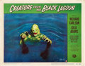 "Movie Posters:Horror, Creature From the Black Lagoon (Universal International, 1954).Lobby Card (11"" X 14"").. ..."