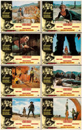 """Movie Posters:Western, Once Upon a Time in the West (Paramount, 1969). Lobby Card Set of 8 (11"""" X 14""""). Western.. ... (Total: 8 Items)"""