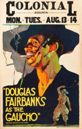 "Movie Posters:Adventure, The Gaucho (United Artists, 1927). Window Card (14"" X 22"").. ..."