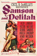 "Movie Posters:Adventure, Samson and Delilah (Paramount, 1949). One Sheet (27"" X 41"").. ..."
