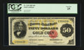 Large Size:Gold Certificates, Fr. 1195 $50 1882 Gold Certificate PCGS Very Fine 25....
