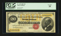 Large Size:Gold Certificates, Fr. 1178 $20 1882 Gold Certificate PCGS Very Fine 35....