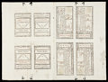Colonial Notes:Georgia, Georgia May 4, 1778 $20 Complete Sheet of Eight Choice About New....