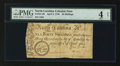 Colonial Notes:North Carolina, North Carolina April 4, 1748 40s PMG Good 4 Net....