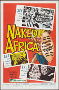 """Movie Posters:Documentary, Naked Africa (American International, 1957). One Sheet (27"""" X 41""""). Documentary.. ..."""
