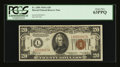 Small Size:World War II Emergency Notes, Fr. 2305 $20 1934A Hawaii Federal Reserve Note. PCGS Choice New 63PPQ.. ...
