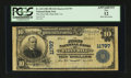 National Bank Notes:Virginia, Flint Hill, VA - $10 1902 Plain Back Fr. 633 The First NB Ch. #11797. ...