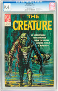 Silver Age (1956-1969):Horror, Movie Classics - The Creature (Second Printing) #nn (Dell, 1964)CGC NM 9.4 Off-white to white pages....