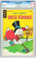 Bronze Age (1970-1979):Cartoon Character, Uncle Scrooge #87 File Copy (Gold Key, 1970) CGC NM+ 9.6 Off-whiteto white pages....