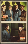 "Movie Posters:Film Noir, The Street With No Name (20th Century Fox, 1948). Lobby Cards (2) (11"" X 14""). Film Noir.. ... (Total: 2 Items)"
