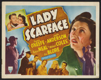 "Lady Scarface (RKO, 1941). Title Lobby Card (11"" X 14""). Crime"