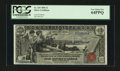 Large Size:Silver Certificates, Fr. 225 $1 1896 Silver Certificate PCGS Very Choice New 64PPQ....