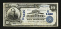 National Bank Notes:Wisconsin, Berlin, WI - $10 1902 Date Back Fr. 620 The First NB Ch. # (M)4620. ...