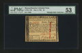 Colonial Notes:Massachusetts, Massachusetts May 5, 1780 $7 PMG About Uncirculated 53....