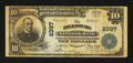 National Bank Notes:Pennsylvania, Dillsburg, PA - $10 1902 Plain Back Fr. 632 The Dillsburg NB Ch. #2397. ...
