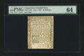 Colonial Notes:Connecticut, Connecticut July 1, 1780 20s PMG Choice Uncirculated 64....