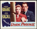 "Movie Posters:Film Noir, Dark Passage (Warner Brothers, 1947). Lobby Card (11"" X 14""). FilmNoir.. ..."