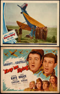 """Movie Posters:Comedy, Keep 'Em Flying (Universal, 1941). Title Lobby Card & Lobby Card 11"""" X 14""""). Comedy.. ... (Total: 2 Items)"""