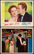 "Movie Posters:Comedy, The Mad Miss Manton Lot (RKO, 1938). Lobby Cards (2) (11"" X 14""). Comedy.. ... (Total: 2 Items)"