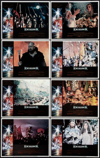 """Excalibur (Warner Brothers, 1981). Lobby Cards (8) (11"""" X 14""""). Fantasy. ... (Total: 8 Items)"""