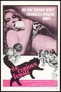"""The Curious Female (Fanfare, 1969). One Sheet (27"""" X 41""""). Adult"""