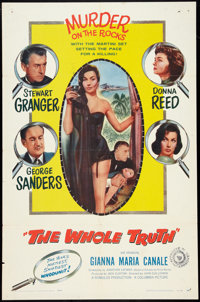 """The Whole Truth (Columbia, 1958). One Sheet (27"""" X 41""""). Thriller"""