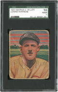 Baseball Cards:Singles (1930-1939), 1933 George C. Miller Lonnie Warneke SGC 10 Poor 1....
