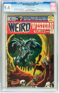 Bronze Age (1970-1979):Horror, Weird Western Tales #12 (DC, 1972) CGC NM 9.4 Off-white to whitepages....