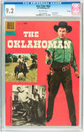 Silver Age (1956-1969):Western, Four Color #820 The Oklahoman - File Copy (Dell, 1957) CGC NM- 9.2Off-white pages....