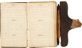 Autographs:Military Figures, Unusual Civil War Diary Containing Entries from Two Union Soldiers, Bandsman Hollis Haven and Private John Rush. ...