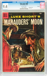 Four Color #848 Marauder's Moon - File Copy (Dell, 1957) CGC NM 9.4 Off-white pages