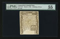 Colonial Notes:Connecticut, Connecticut March 1, 1780 2s6d PMG About Uncirculated 55....