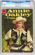 Silver Age (1956-1969):Western, Annie Oakley and Tagg #10 Circle 8 pedigree (Dell, 1957) CGC NM+ 9.6 Off-white to white pages....