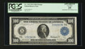 Large Size:Federal Reserve Notes, Fr. 1110 $100 1914 Federal Reserve Note PCGS Apparent Very Fine 25....