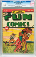 Golden Age (1938-1955):Miscellaneous, More Fun Comics #47 (DC, 1939) CGC FR/GD 1.5 Cream to off-white pages....