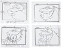 animation art:Production Drawing, Ren & Stimpy Storyboard Original Art Group (Spumco,2002).... (Total: 57 Items)