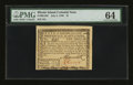 Colonial Notes:Rhode Island, Rhode Island July 2, 1780 $1 PMG Choice Uncirculated 64....
