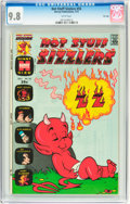 Bronze Age (1970-1979):Cartoon Character, Hot Stuff Sizzlers #55 and 56 CGC-Graded File Copy Group (Harvey,1973).... (Total: 2 Comic Books)